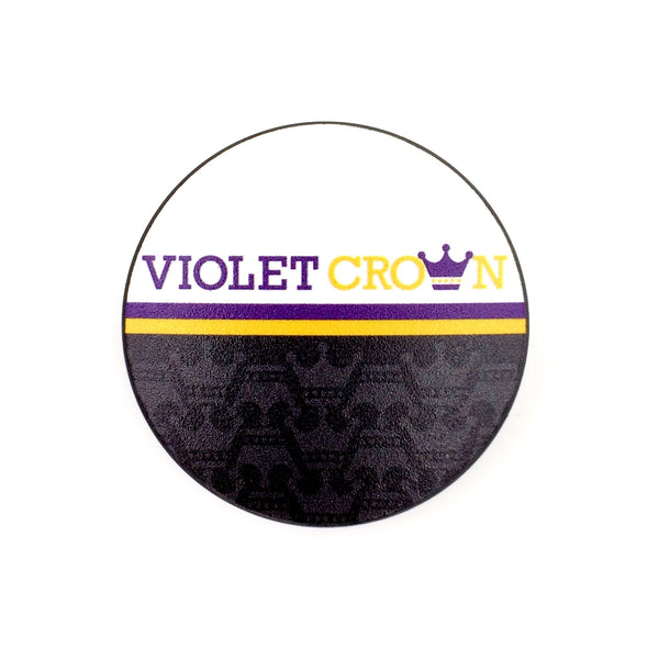 The Violet Crown Text Stem Cover 2.0