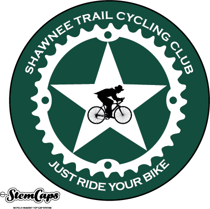 The Shawnee Trail Cycling Club Green Stem Cover