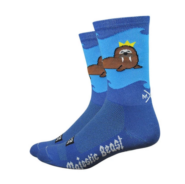 Moxy and Grit: Majestic Beast Walrus Socks
