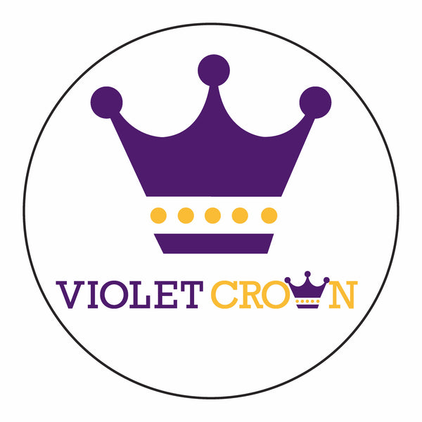 The Violet Crown Stem Cover White