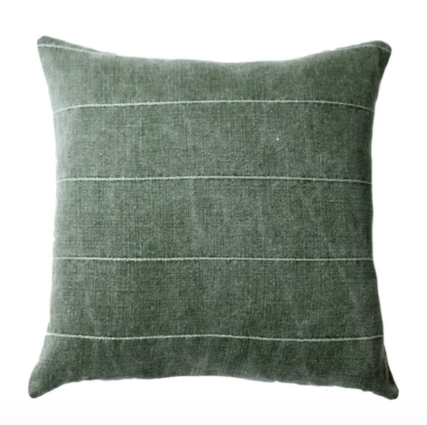 Gage Green Pillow Cover