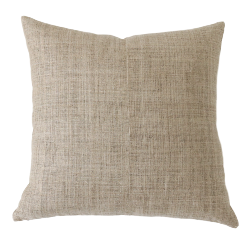 Jasper Tan Pillow Cover