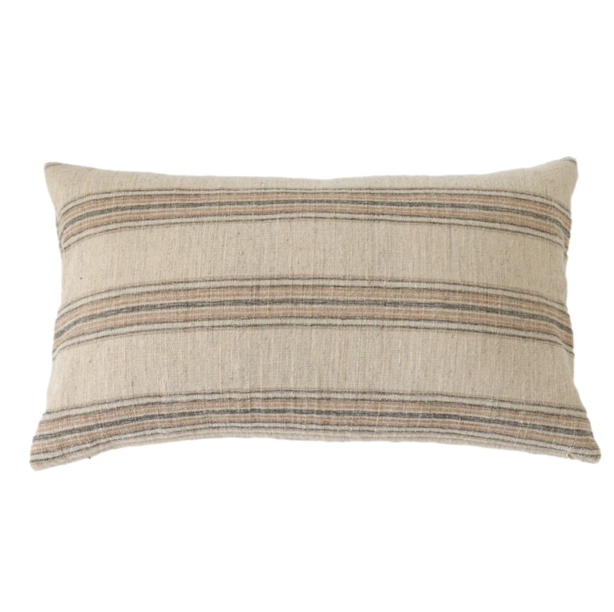 Felix Wool Stripe Pillow Cover