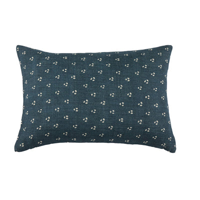 Three Dots Blue Designer Pillow Cover-Danielle Oakey Shop