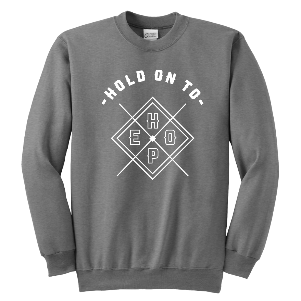 Hold On To Hope Youth Crewneck Sweatshirt