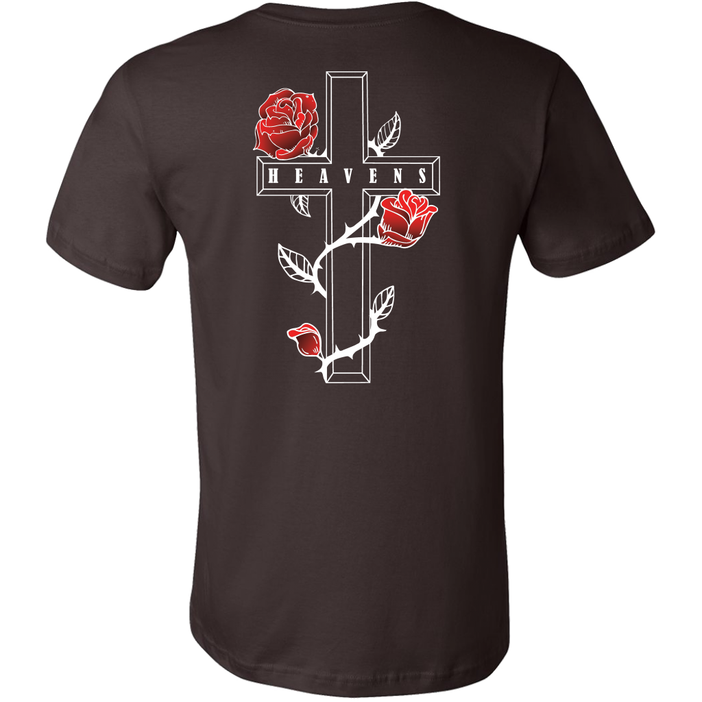 Cross Rose Tee