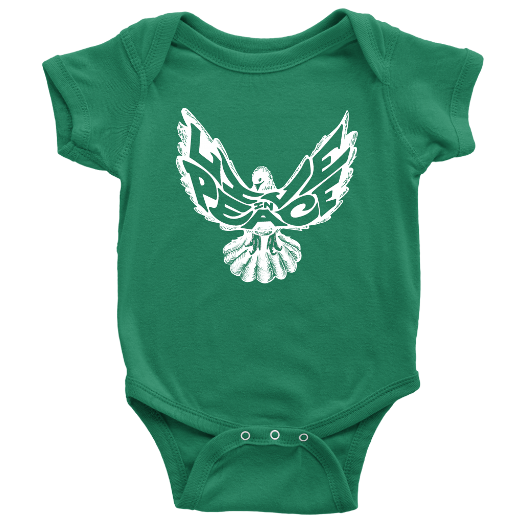 Live in Peace Baby Bodysuit
