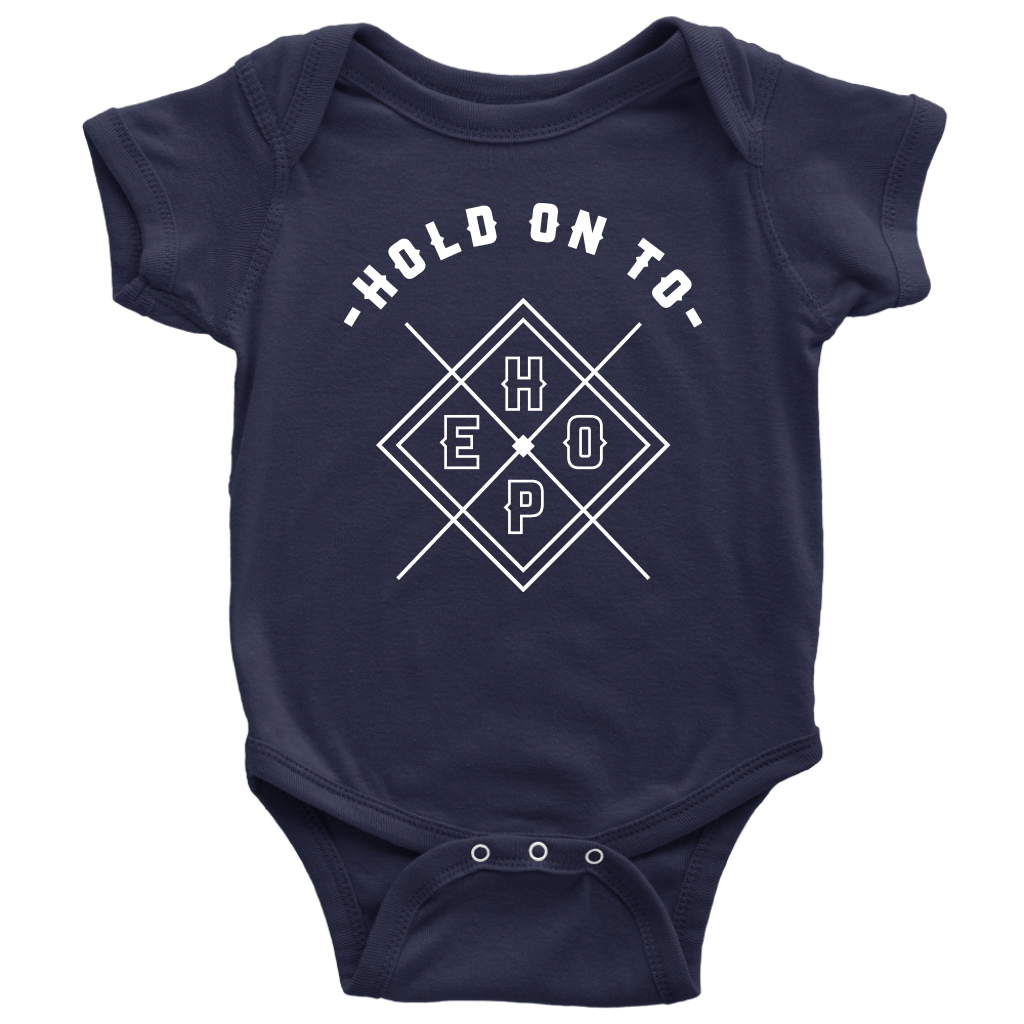Hold On To Hope Baby Bodysuit