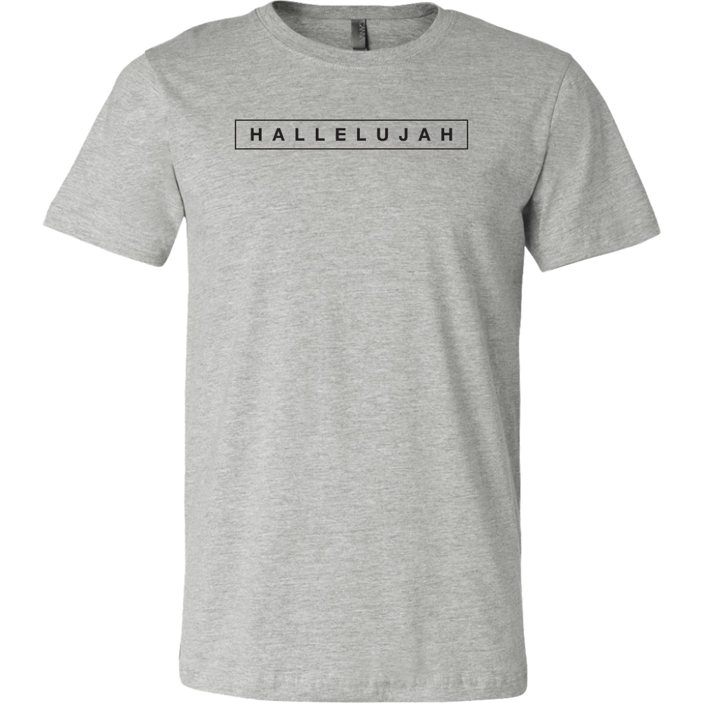 Hallelujah Tee (Black Ink)