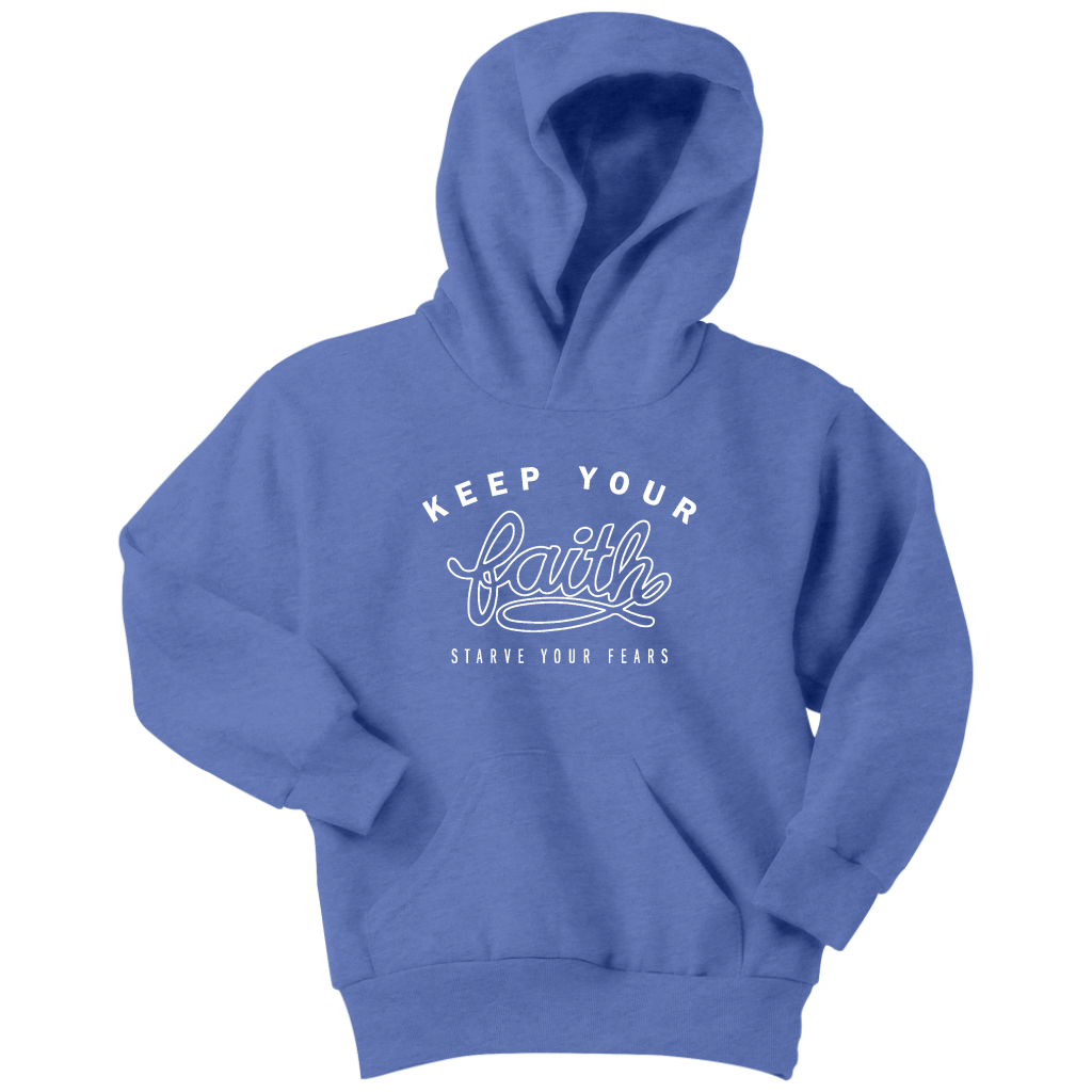 Keep Your Faith Youth Hoodie