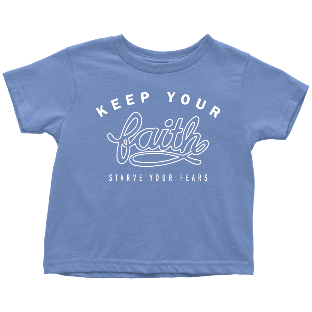 Keep Your Faith Toddler Tee