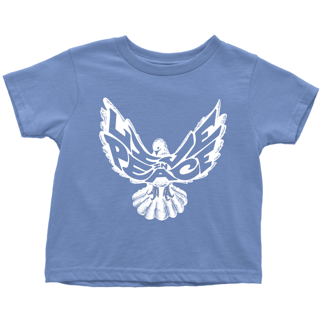 Live In Peace Toddler Tee