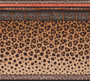 Sample of Cole & Son Zulu Border 109/13060