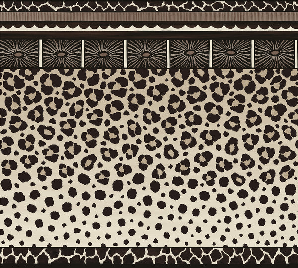 Sample of Cole & Son Zulu Border 109/13061