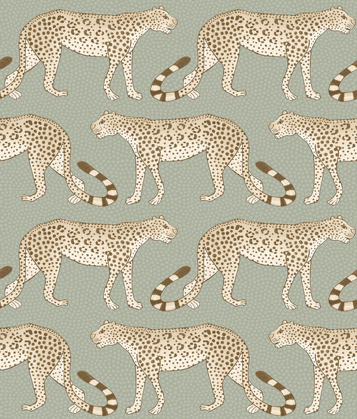Sample of Cole & Son Leopard Walk 109/2009
