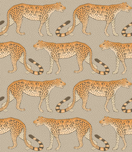 Sample of Cole & Son Leopard Walk 109/2010