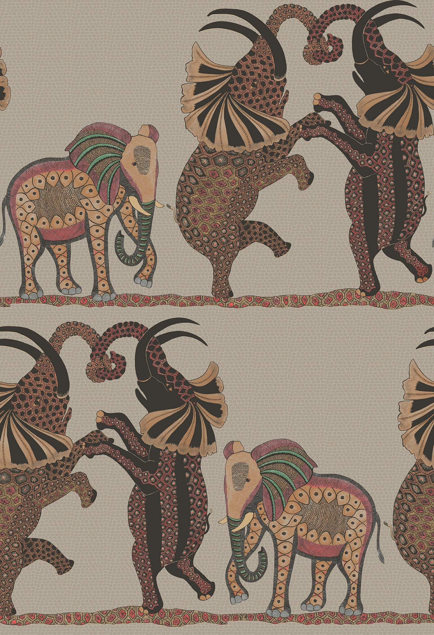 Sample of Cole & Son Safari Dance 109/8038