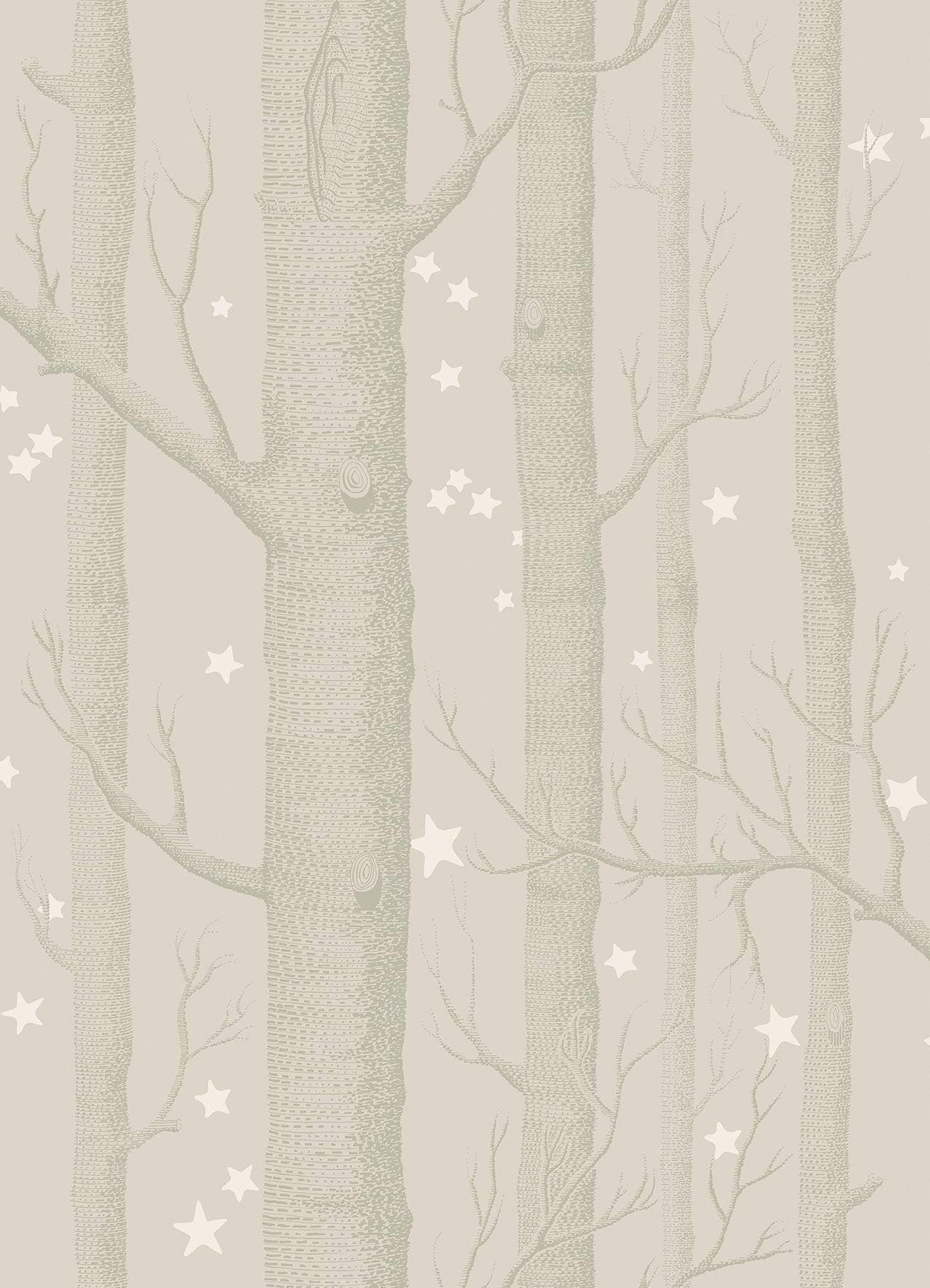 Sample of Cole & Son Woods & Stars 103/11048