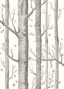 Sample of Cole & Son Woods & Stars 103/11050