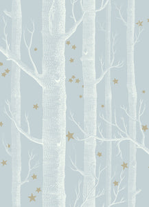 Sample of Cole & Son Woods & Stars 103/11051