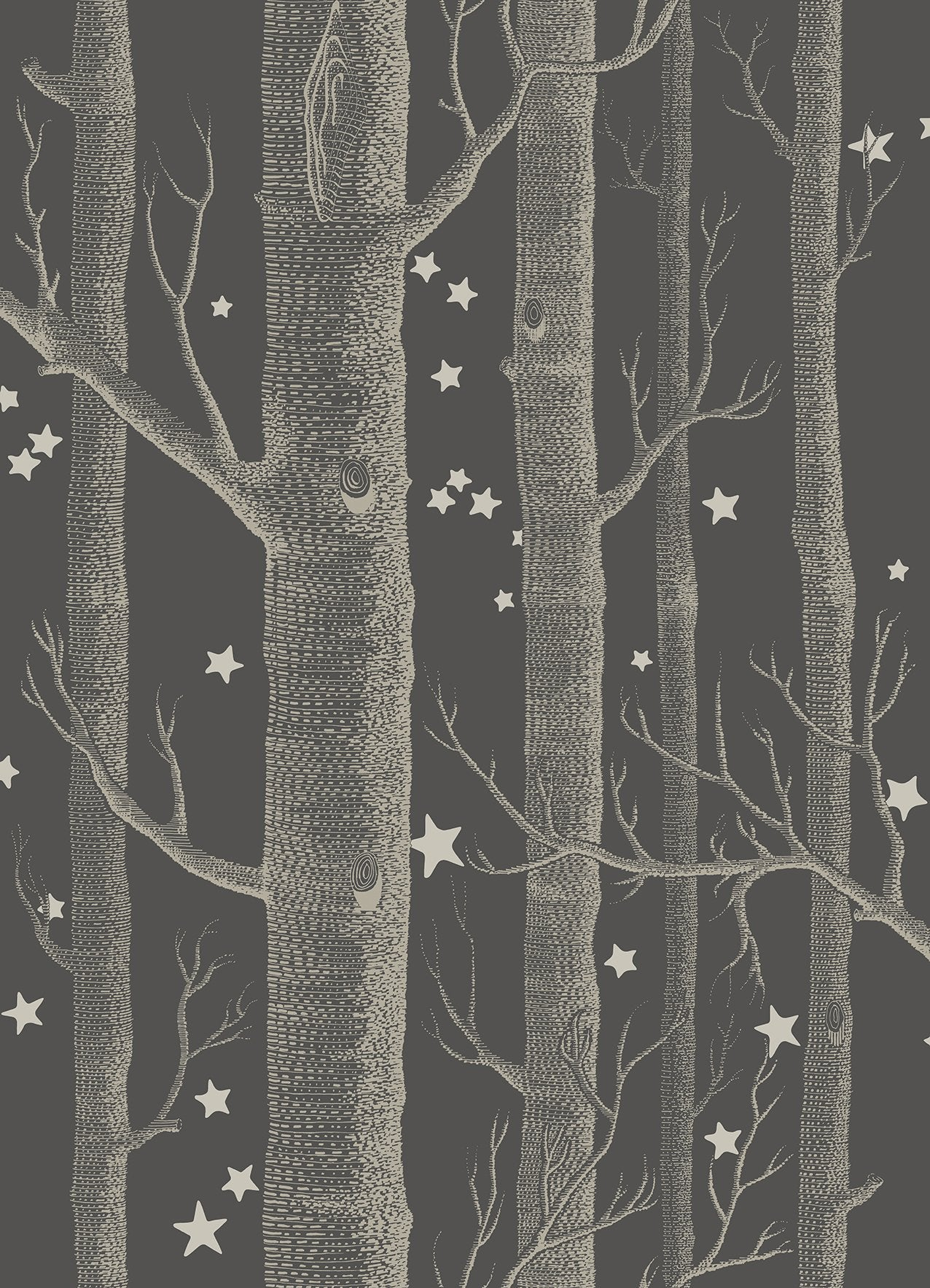 Sample of Cole & Son Woods & Stars 103/11053