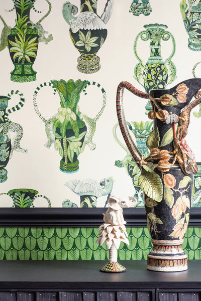Sample of Cole & Son Khulu Vases 109/12059