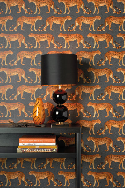Sample of Cole & Son Leopard Walk 109/2012