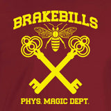 Brakebills Magic Dept cardinal shirt yellow print magicians hogwarts unisex