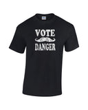 vote danger shirt carlos black