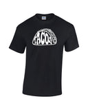 tacos silhouette word shirt black