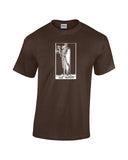 hermit tarot card shirt brown