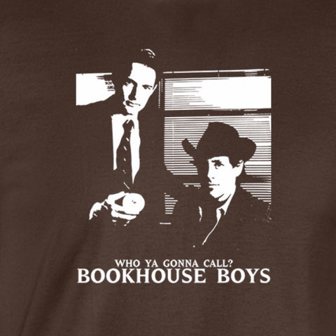 who ya gonna call? bookhouse boys shirt brown
