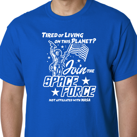 JOIN SPACE FORCE Tee