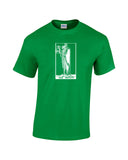 hermit tarot card shirt green
