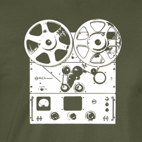 reel to reel player shirt military