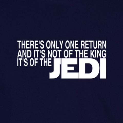 clerks jedi quote funny star wars lotr navy blue t-shirt