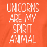 Unicorn Spirit Animal T-Shirt