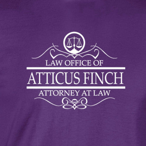 Atticus Finch Attorney T-Shirt