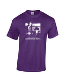 who ya gonna call? bookhouse boys shirt purple