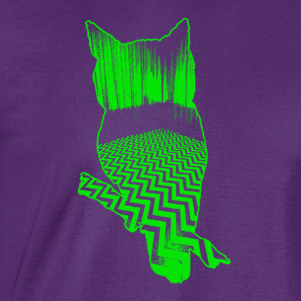 Twin Peaks Lime Owl T-Shirt