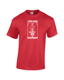 hanged man tarot card shirt red