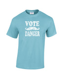 vote danger shirt carlos light blue
