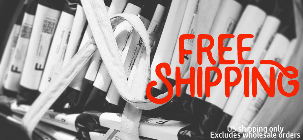 Free US Shipping on all orders.