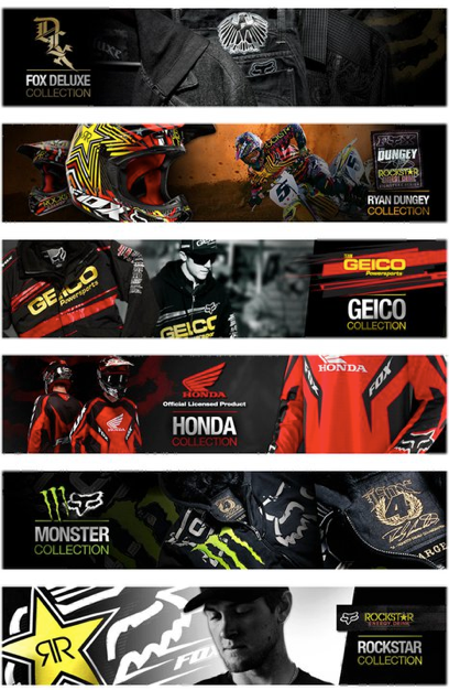 Fox Racing: Web Graphics Official