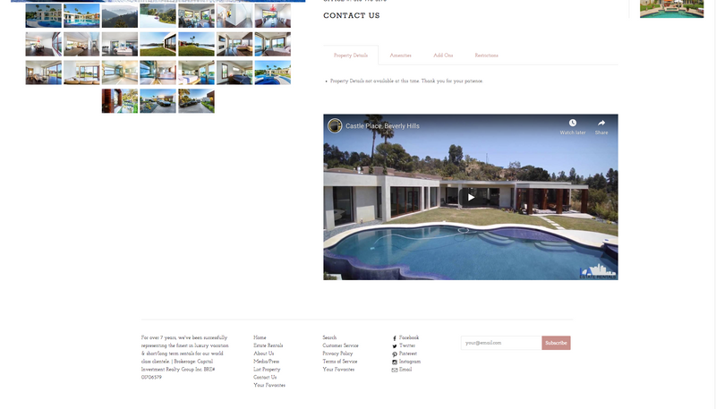 LA Estate Rentals: Premiere Luxury Rentals Official