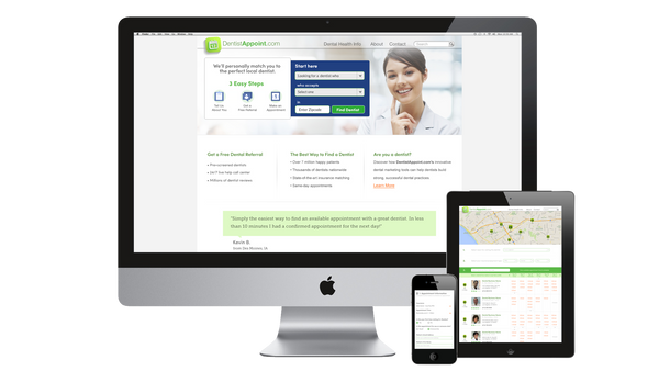 1-800-Dentist: Dentist Appoint Web App Official