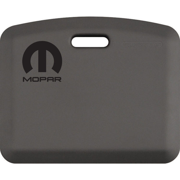 "Licensed Collection – ""Mopar Black"" Logo - WellnessMats"