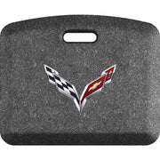 "Licensed Collection – ""C7 Crossflags"" Logo - WellnessMats"