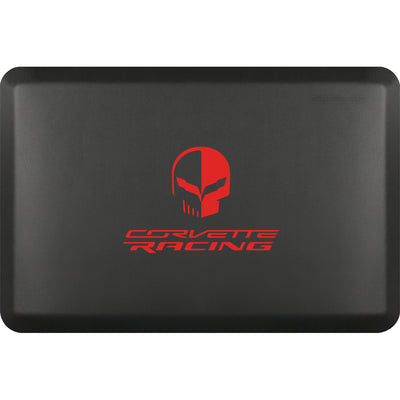 "Licensed Collection – ""Corvette Racing Jake Red"" Logo - WellnessMats"
