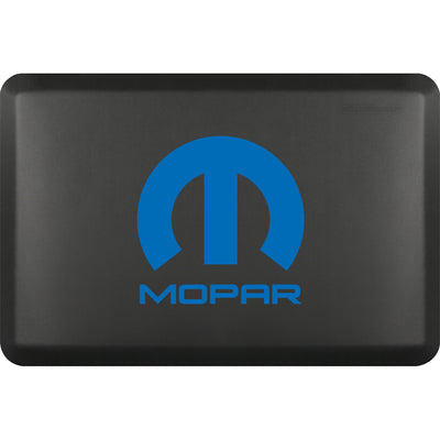"Licensed Collection – ""Mopar Blue"" Logo - WellnessMats"